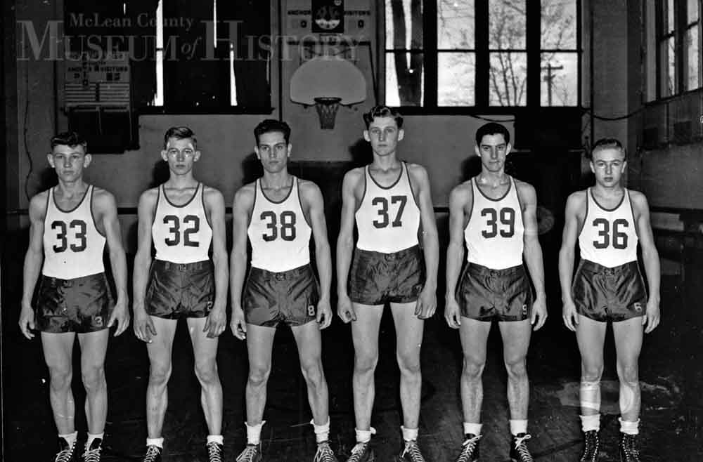 Anchor High School basketball, 1946.