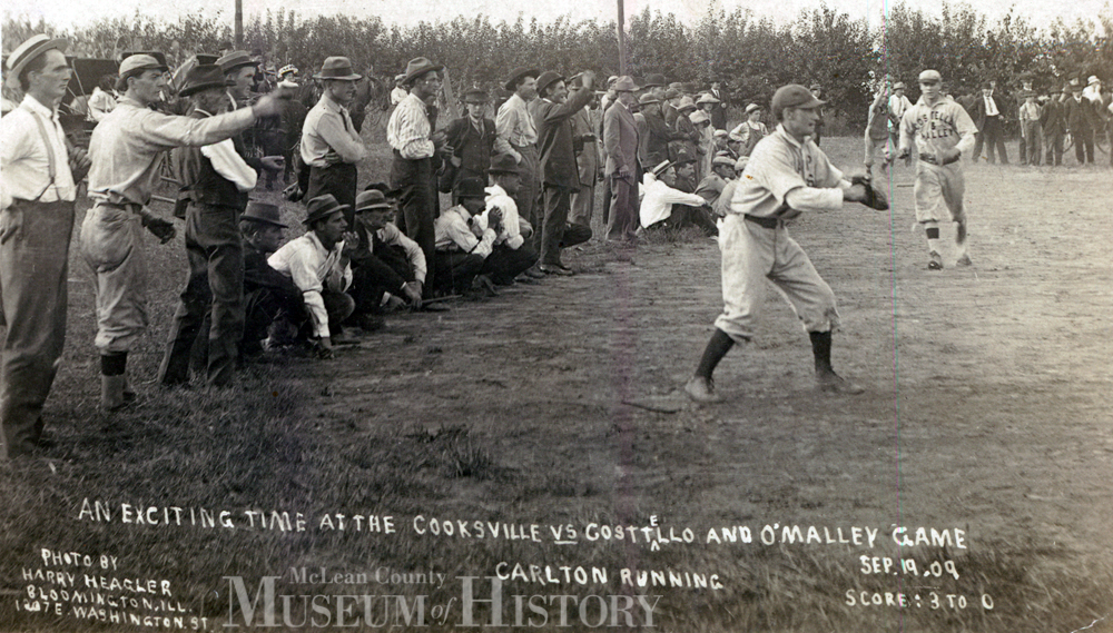 Baseball players, 1909.