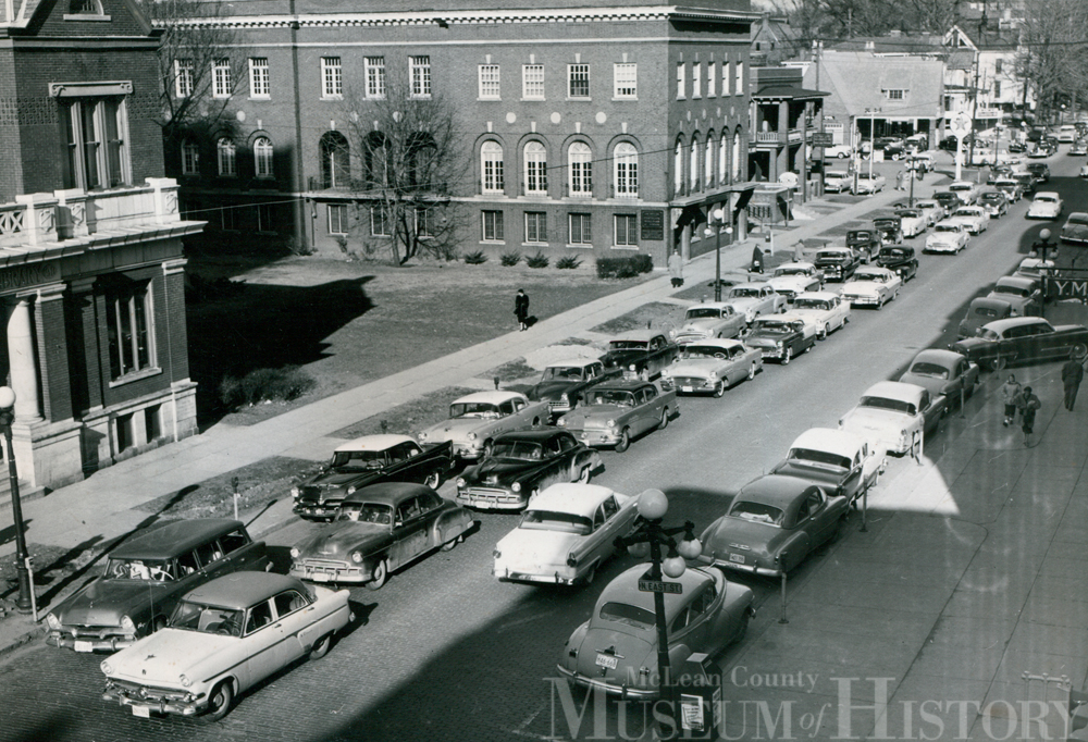 Downtown Bloomington, 1956.