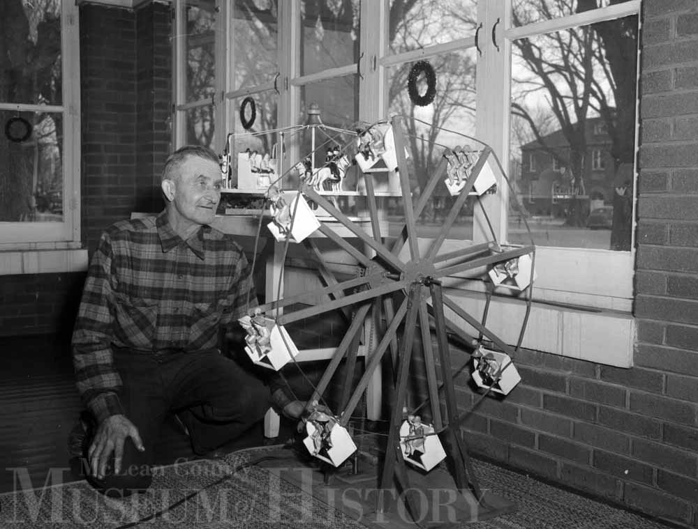 Homemade mechanical toy, 1952