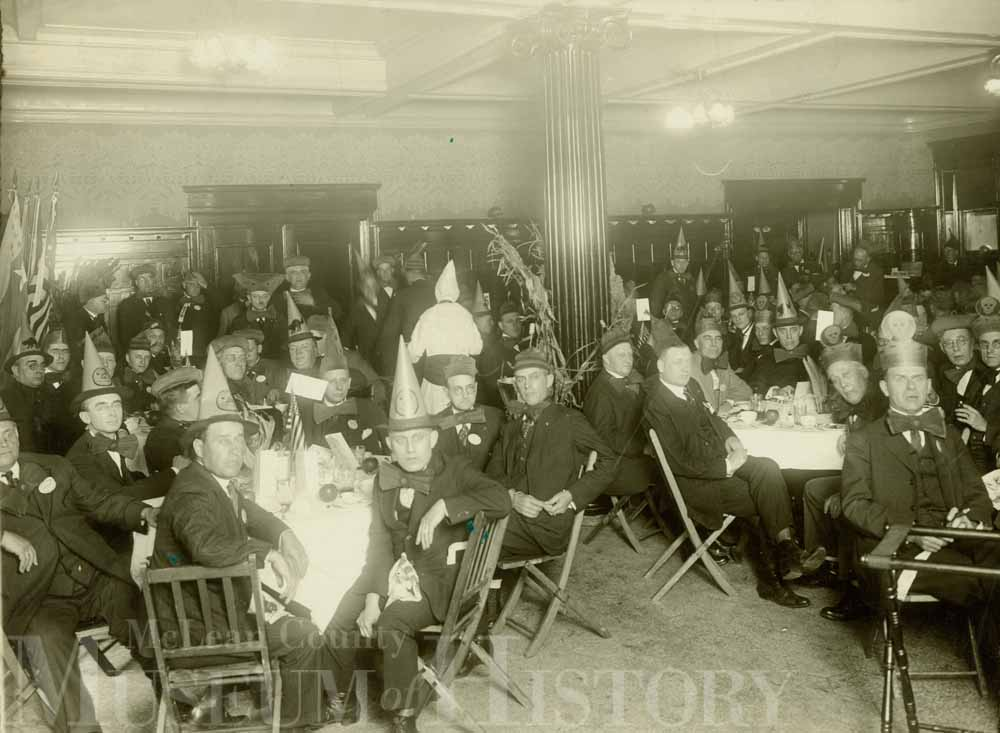 Fraternal Halloween Party, 1918.