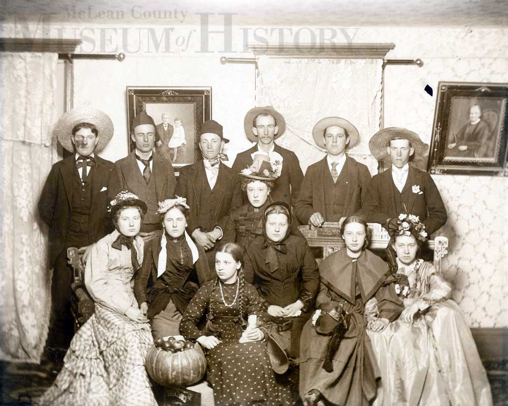 Old Halloween Party, 1890s.