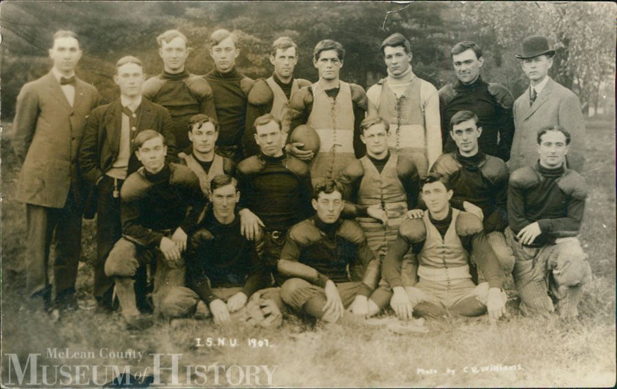 Illinois State University football, 1907.