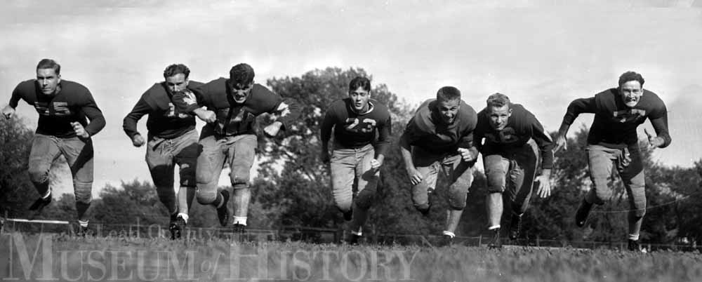 Illinois State University football team, 1941.
