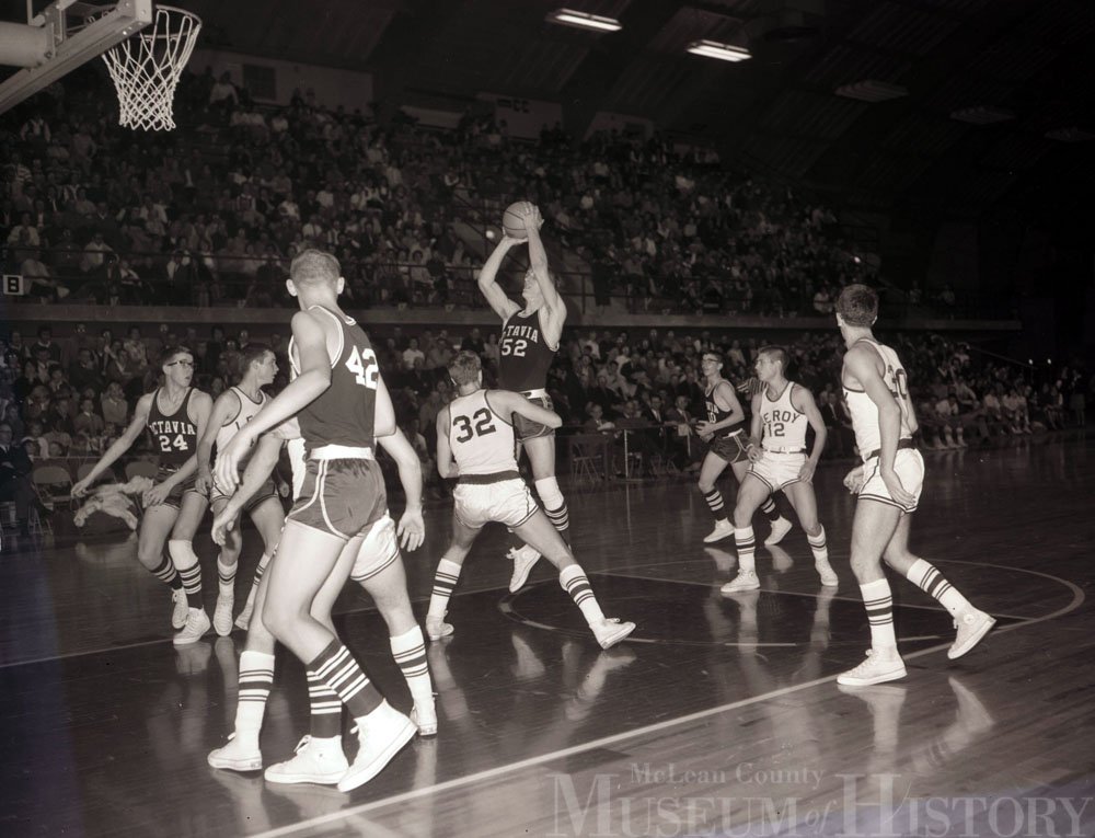 McLean County basketball tournament, 1966.