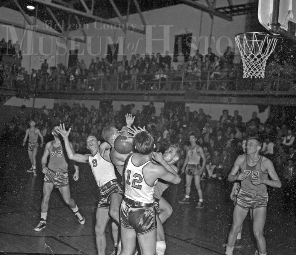 Basketball tournament, 1948.