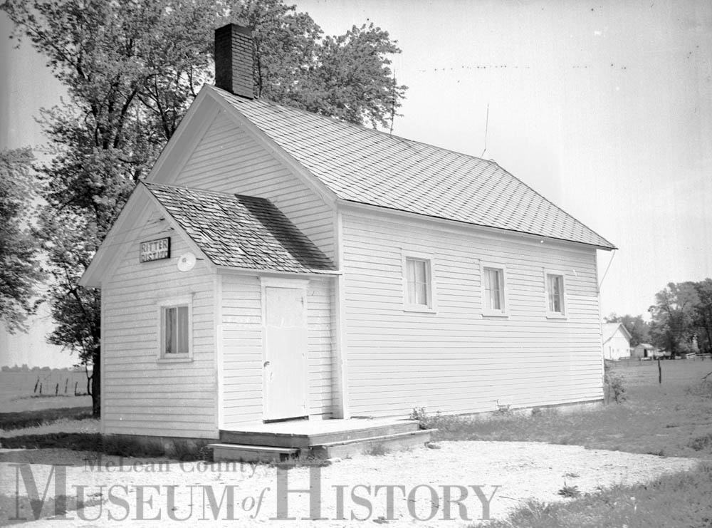 Ritter schoolhouse, 1941.