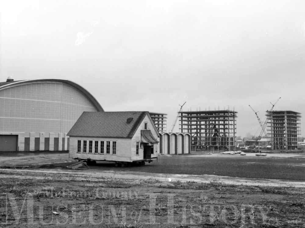 One-room Rose Hill School, 1963.