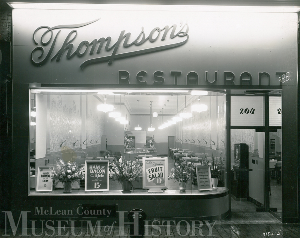 Thompson's Resturant, undated.