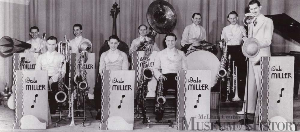Dale Miller's orchestra, 1930s.