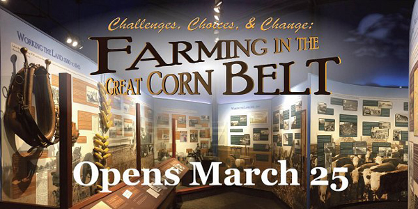 Farming in the Great Corn Belt graphic - Opens March 25