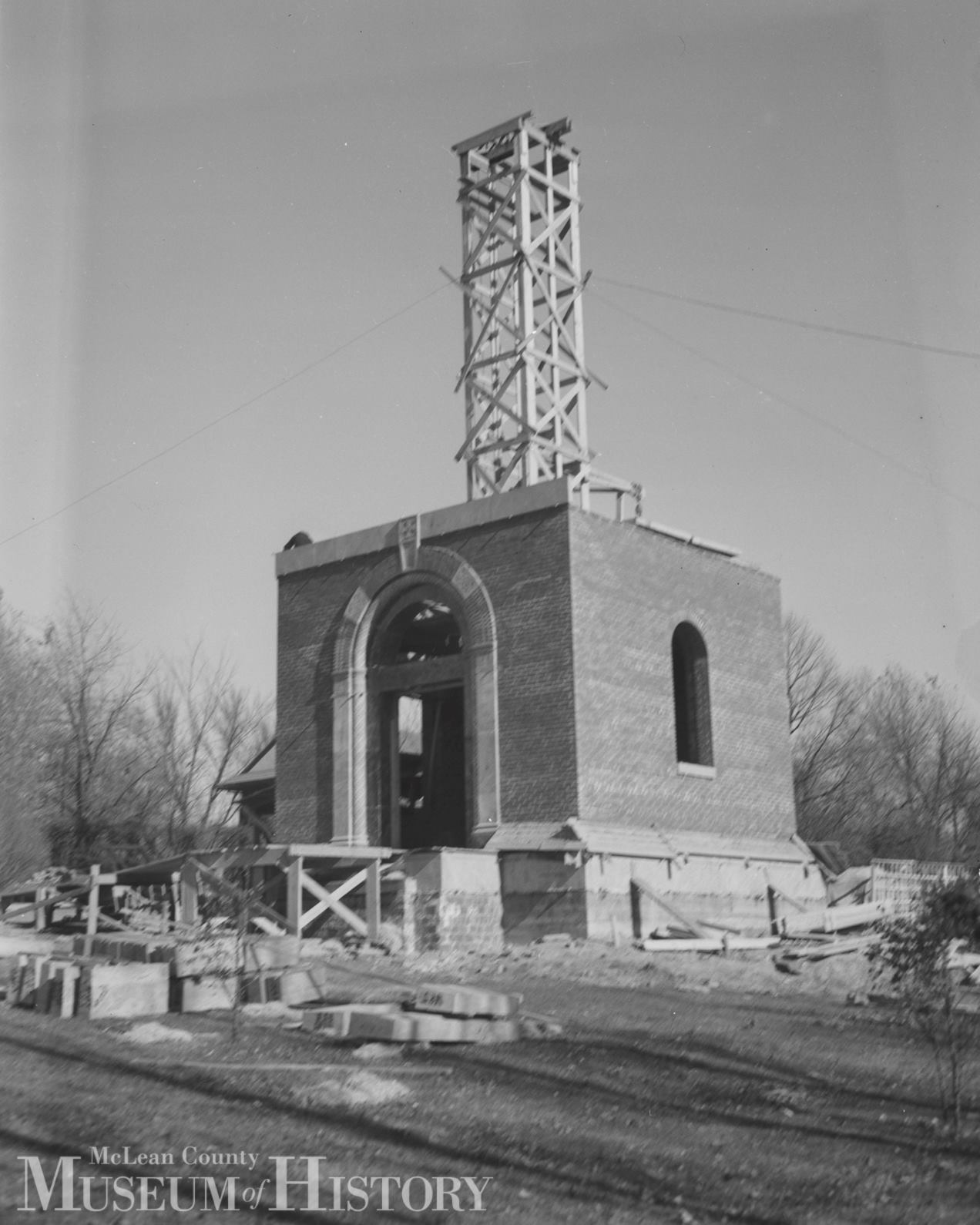 Broadview Mansion Bell Tower, November 1939