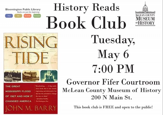 History Reads Book Club: Rising Tide
