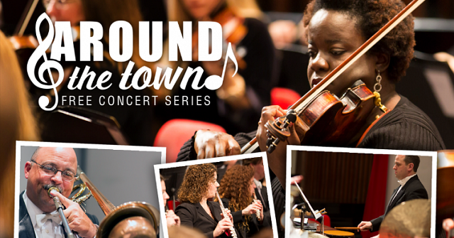 The Around the Town Concert Series