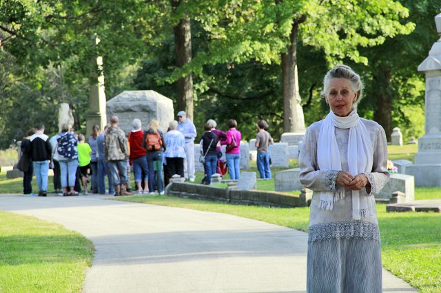 A History of the Evergreen Cemetery Walk