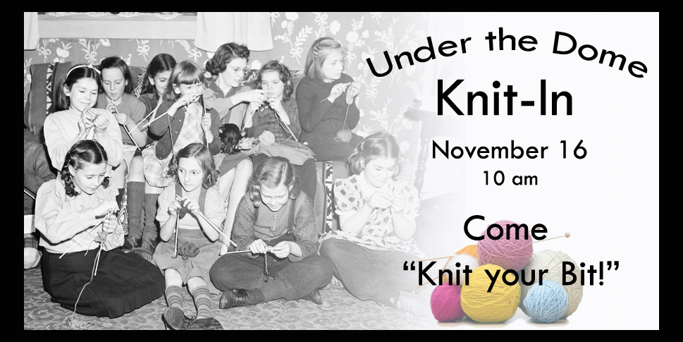 Under the Dome Knit-In