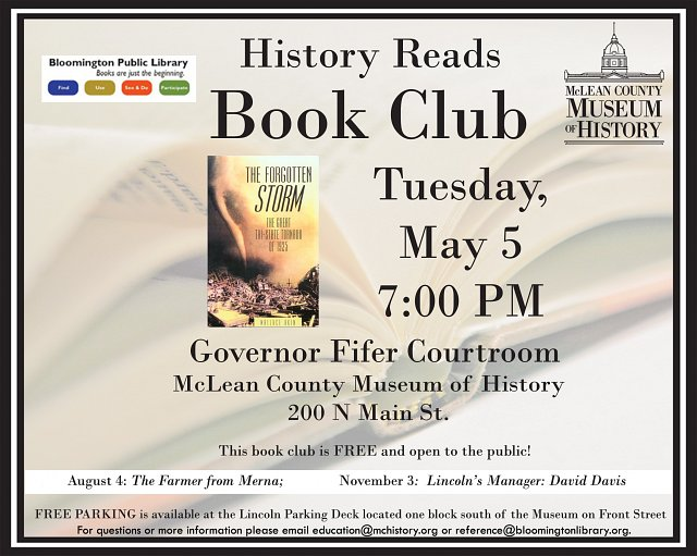 History Reads Book Club -The Forgotten Storm: The Great Tri-State Tornado of 1925 by Wallace E. Akin