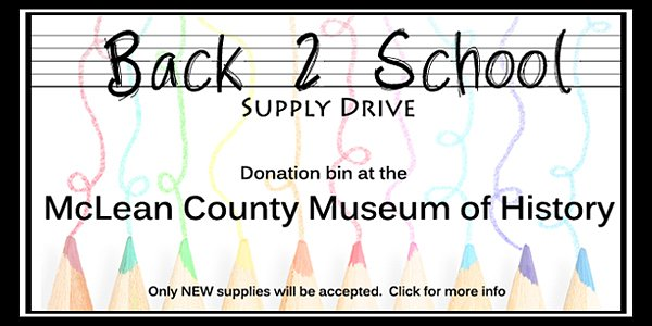 Last Day for Back 2 School Supply Drive