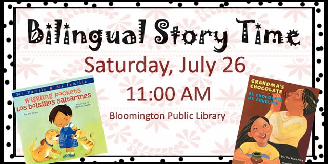 Bilingual Story Time Program at Bloomington Public Library